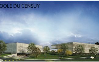 Concours / Ecole Censuy (collaboration avec Montalba architects)